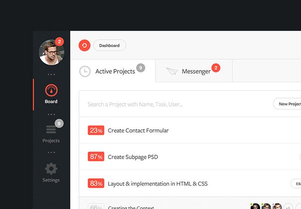 Dashboard UI Freebie — Design Freebies on UI8