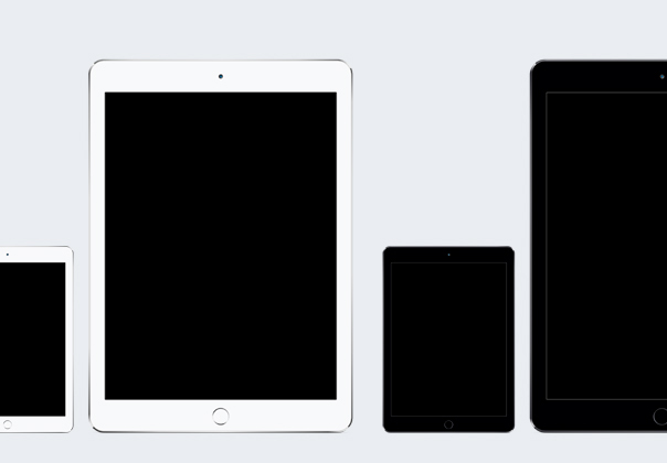 Ios device templates iphone se & ipad pro freebie download.