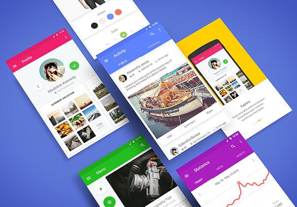 Free Material UI Kit — Design Freebies on UI8